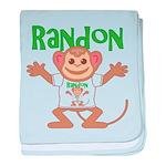 Little Monkey Randon baby blanket