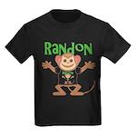 Little Monkey Randon Kids Dark T-Shirt