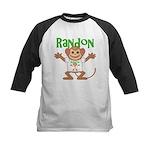Little Monkey Randon Kids Baseball Jersey