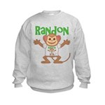 Little Monkey Randon Kids Sweatshirt