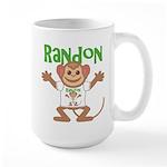Little Monkey Randon Large Mug