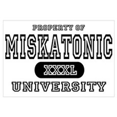 Miskatonic University Canvas Art