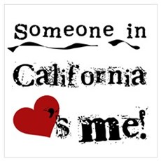 Someone in California Poster