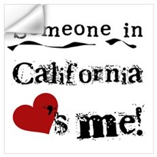 Someone in California Wall Decal