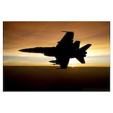 Hornet Sundown Poster