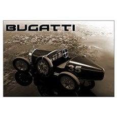 Bugatti Racer Canvas Art
