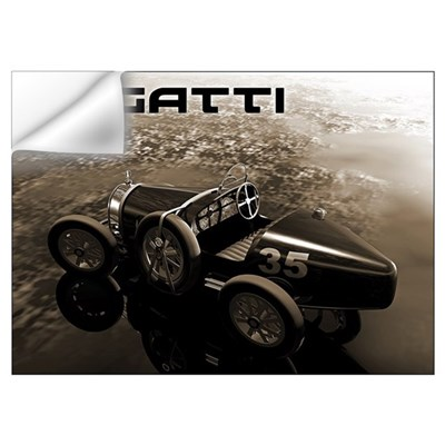 Bugatti Racer Wall Decal