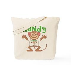 Little Monkey Randy Tote Bag