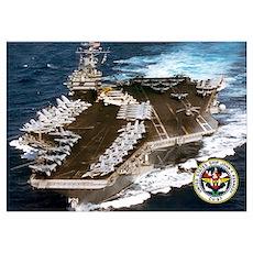 USS John F. Kennedy CV-67 Poster