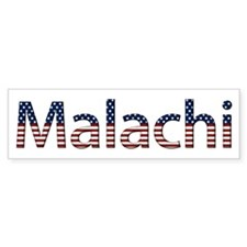 Malachi Stars and Stripes Bumper Bumper Bumper Sticker