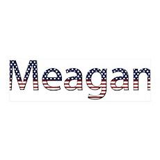 Meagan Stars and Stripes 42x14 Wall Peel
