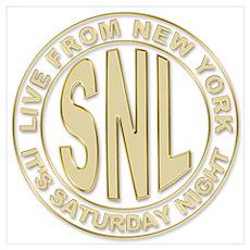 Saturday Night Live Poster