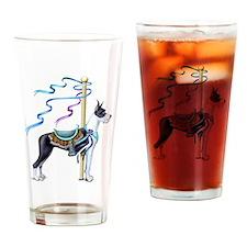 Great Dane Mantle Carousel Drinking Glass