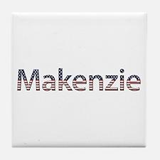 Makenzie Stars and Stripes Tile Coaster
