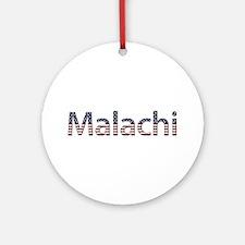 Malachi Stars and Stripes Round Ornament