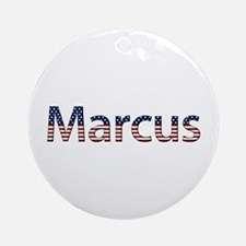 Marcus Stars and Stripes Round Ornament