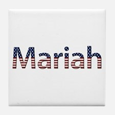 Mariah Stars and Stripes Tile Coaster