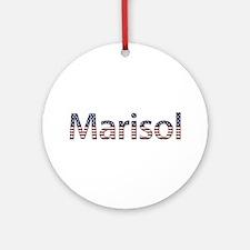 Marisol Stars and Stripes Round Ornament