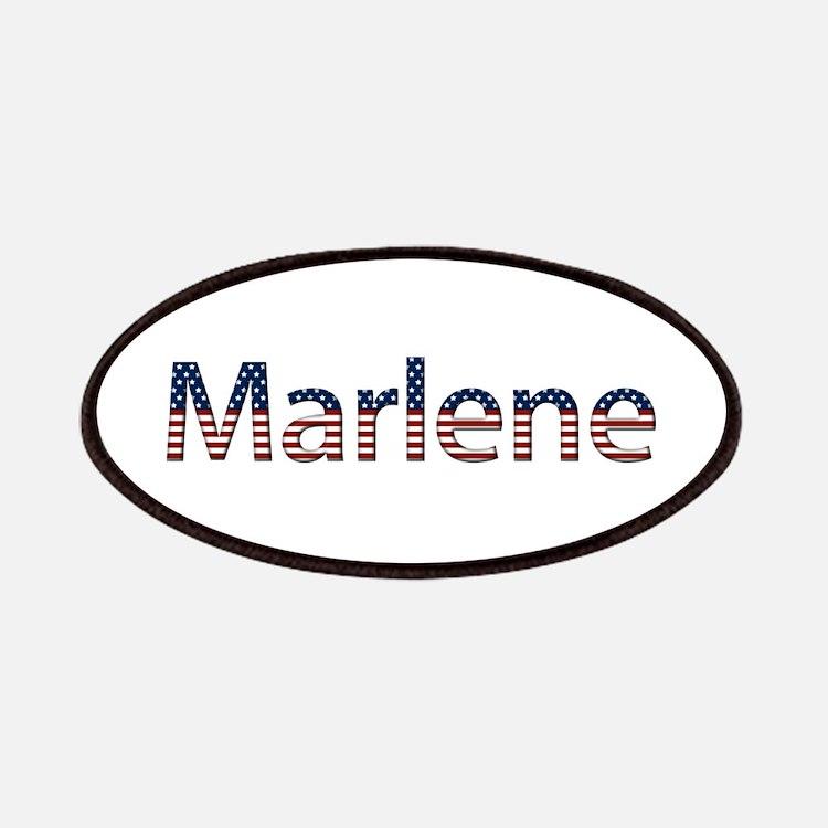 Marlene Stars and Stripes Patch