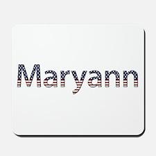 Maryann Stars and Stripes Mousepad