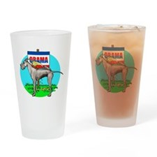 Black Dane Pi$$ on Obama Drinking Glass