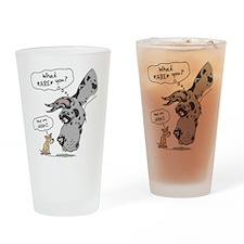 Merle Dane WhatRU Drinking Glass