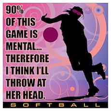 2011 Softball 71 Poster