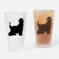 Afghan Silhouette Drinking Glass