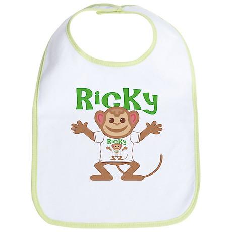 Little Monkey Ricky Bib
