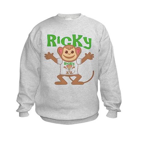 Little Monkey Ricky Kids Sweatshirt