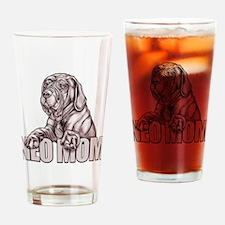 Neo Mom Black UC Drinking Glass