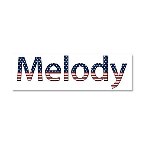 Melody Stars and Stripes 10x3 Car Magnet