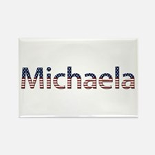 Michaela Stars and Stripes Rectangle Magnet