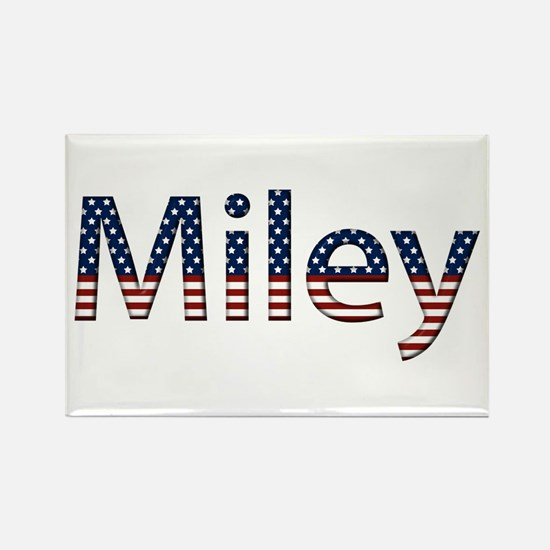 Miley Stars and Stripes Rectangle Magnet
