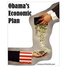 """Obama's Economic Plan"" Canvas Art"