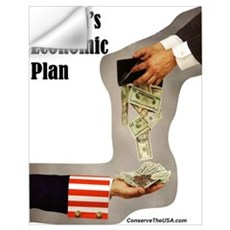 """Obama's Economic Plan"" Wall Decal"