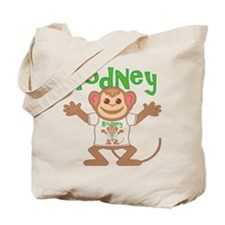 Little Monkey Rodney Tote Bag