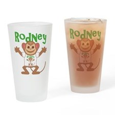 Little Monkey Rodney Drinking Glass