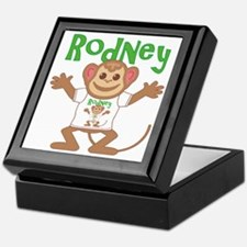 Little Monkey Rodney Keepsake Box
