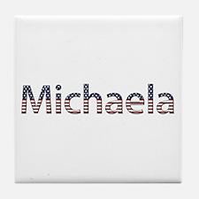 Michaela Stars and Stripes Tile Coaster