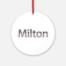 Milton Stars and Stripes Round Ornament