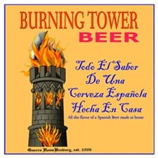 Burning Tower Poster