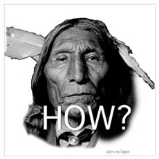 """""""Sir wolf robe""""chief asking H Poster"""