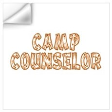 Camp Counselor Wall Decal