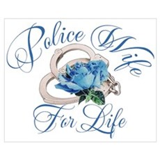 Police Wife For Life Poster