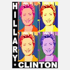 Hilary Pop Art