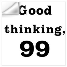 Good Thinking 99 Wall Decal