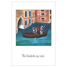 The Gondola of Boston Love Framed Print