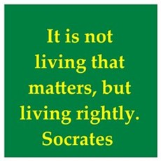 Wisdom of Socrates Framed Print