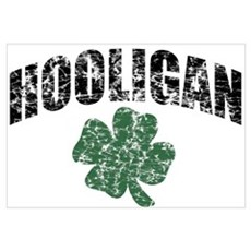 Hooligan Distressed Canvas Art